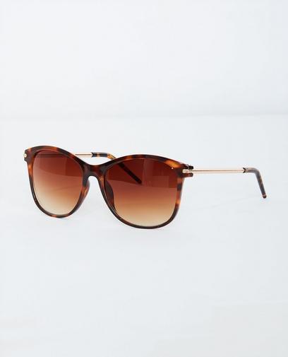 Bruine classy zonnebril